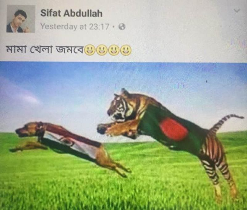 Bangladeshi fans insults Virat Kohli on social media