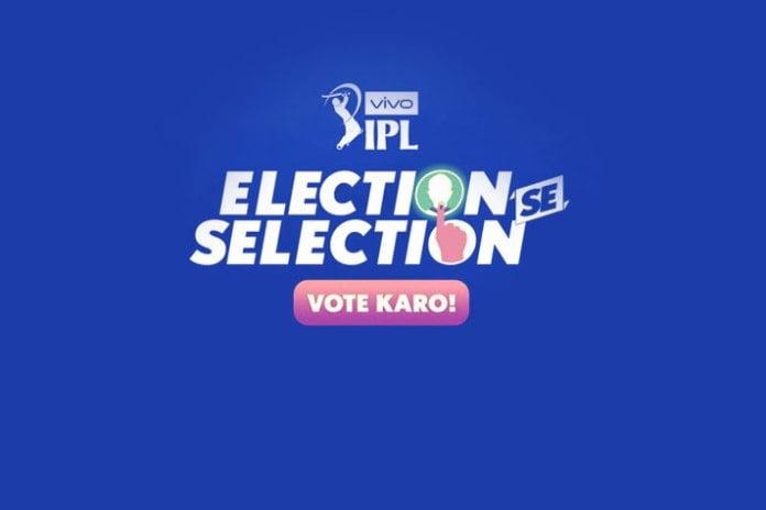 vivo ipl election hotstar