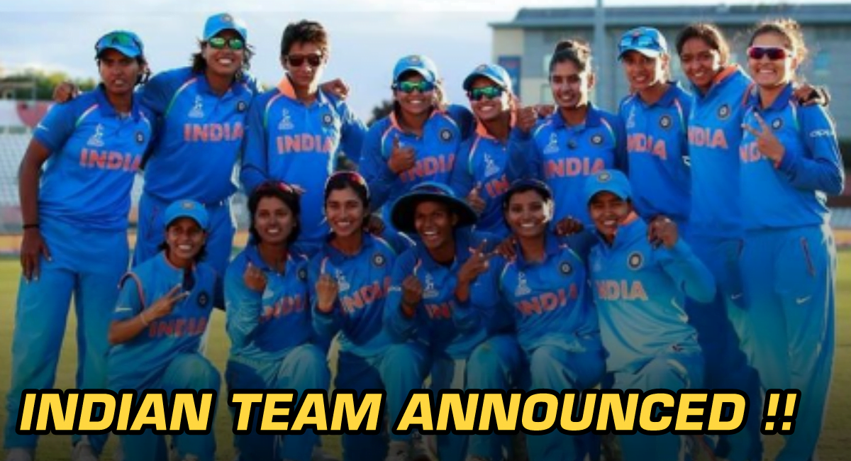 India's Women's Squad Announced For The South Africa Tour