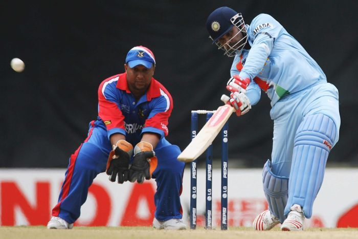 Sehwag for India in 2007.
