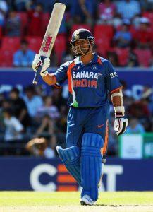 Sachin Tendulkar 163 against New Zealand at Christchurch.