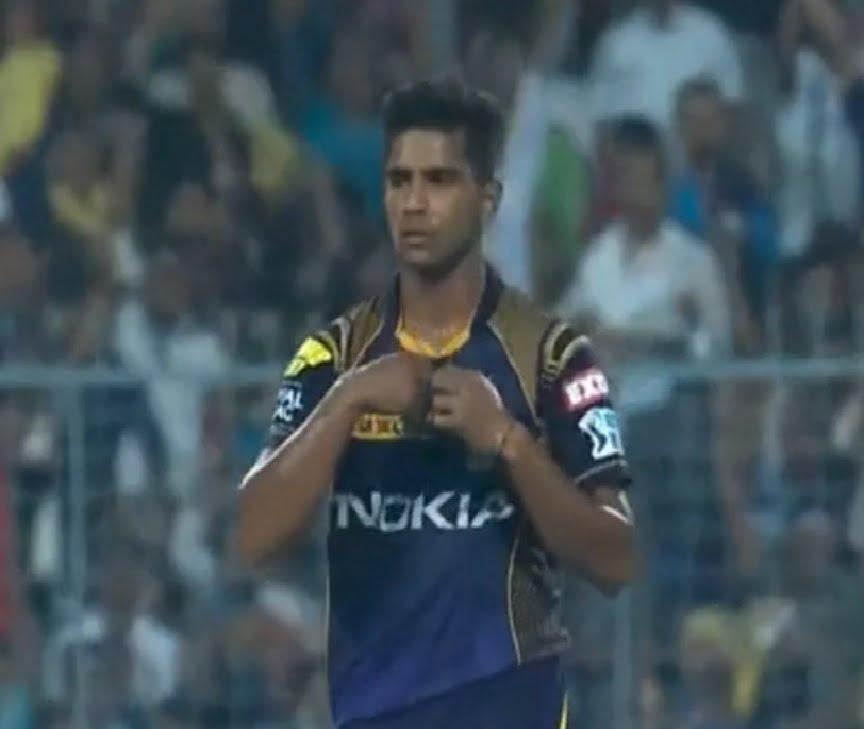 IPL 2018: Shivam Mavi's maiden IPL wicket