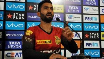 Kolkata: Kolkata Knight Riders (KKR) captain Dinesh Karthik addresses a press conference at Eden Gardens