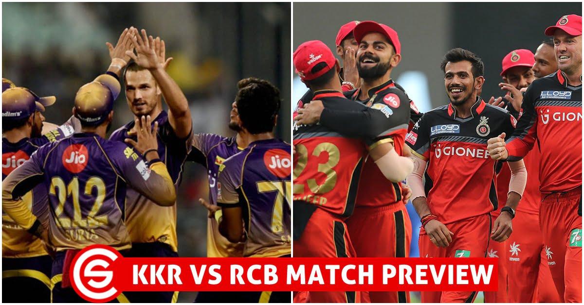 IPL 2018: Match 3 (KKR vs RCB) Preview - Kolkata Looks To ...