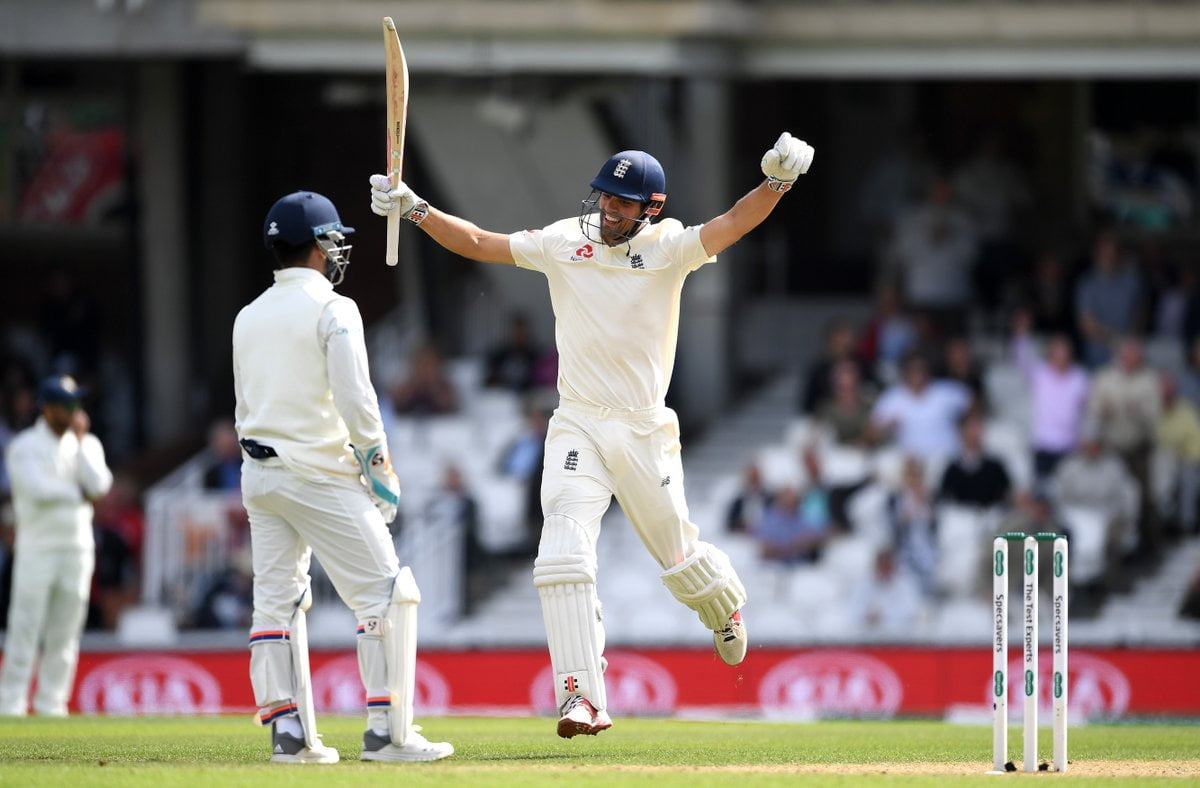 Twitter Reactions: Alastair Cook scores a century in his