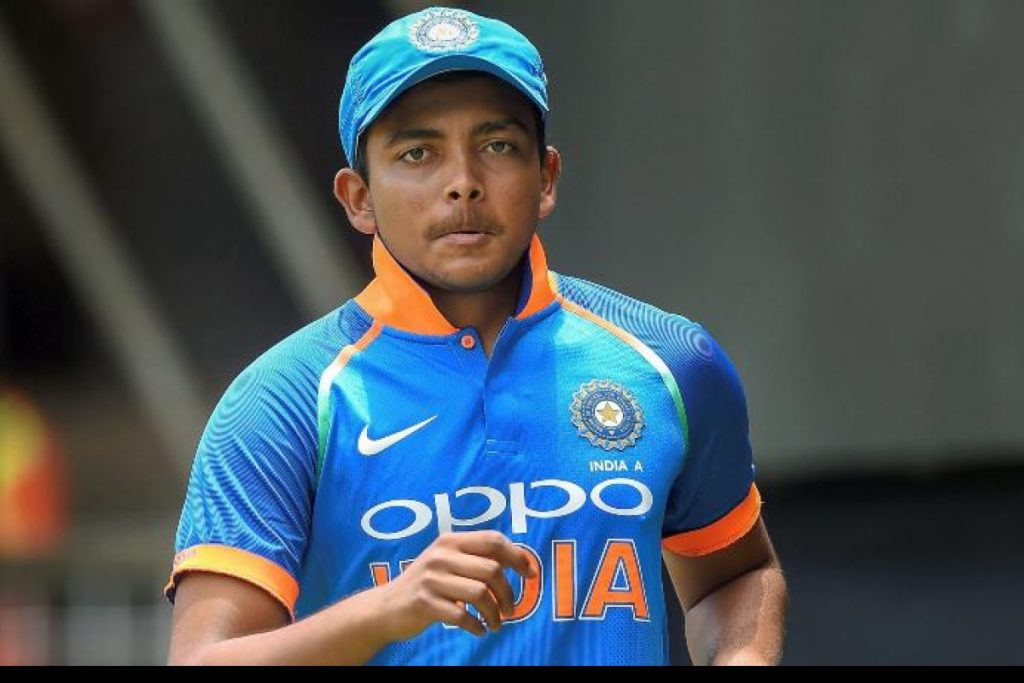 Mohammad Kaif Feels Prithvi Shaw Will Make It To The T20 WC Squad