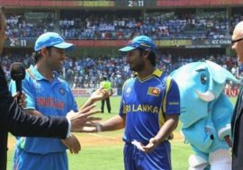 Kumar Sangakkara and MS Dhoni