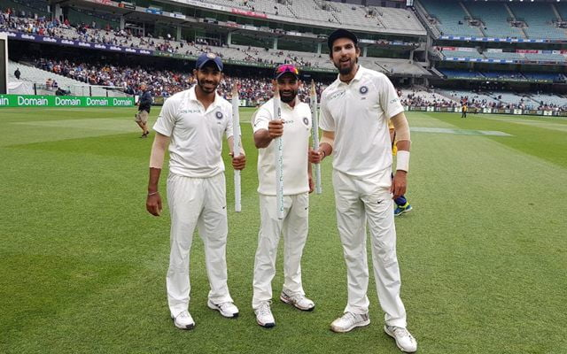 India's fast bowlers