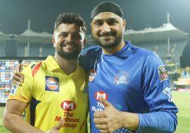 Harbhajan Singh and Suresh Raina