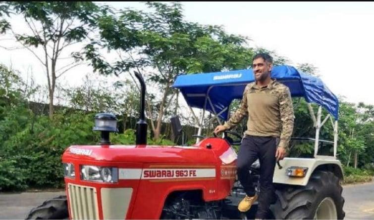 dhoni tractor