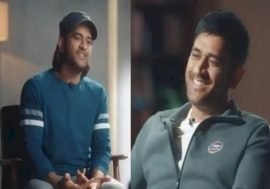 dhoni younger