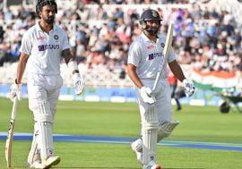 Indian openers KL Rahul and Rohit Sharma